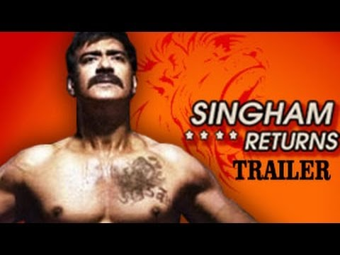 Singham Returns | Theatrical Trailer | Ajay Devgn & Kareena Kapoor RELEASES