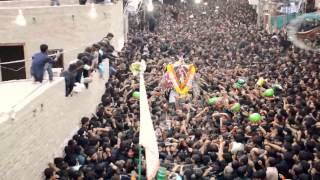 Karbala Tazia 9th Moharram 1437 / 2015 - Rohri