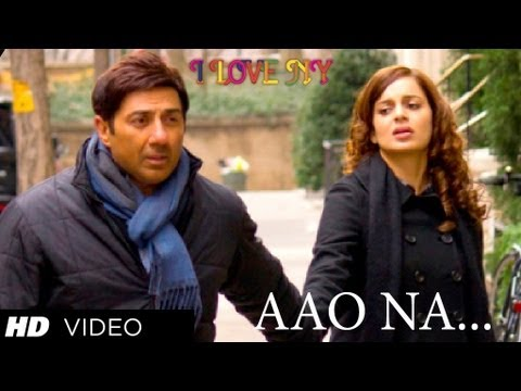I LOVE NY VIDEO SONG AAO NA ★ SUNNY DEOL KANGANA RANAUT ★...