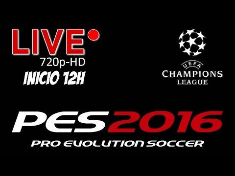 LIVE - PES 216 - ... Continuando UEFA Champions League...