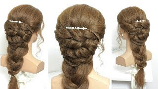 Best Hairstyle For Girls. Simple And Beautiful Long Hair Tutorial