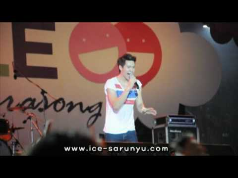 "[Fancam] 100704 ICE Sarunyu ""Talk+Prot Song Krai Mah Ruk Chun Tee"" SMILE @ Ratchaprasong"