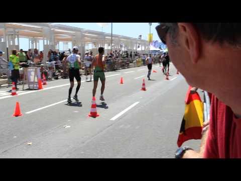 Ironman de Nice 2013 Course à pied