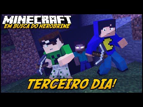 Minecraft: EM BUSCA DO HEROBRINE - TERCEIRO DIA! #3