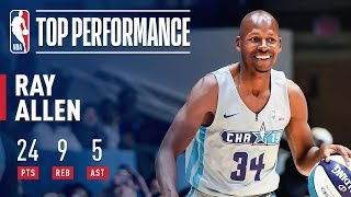 Ray Allen Puts On Vintage Performance In 2019 Celebrity Game | 2019 NBA All-Star