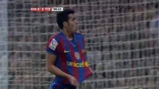 Real - Barcelona 02, Pedro Rodriguez, HQ video