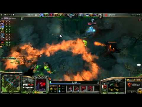 Quantic Gaming vs The Alliance Game 2   The Defense 4 DOTA 2   TobiWan