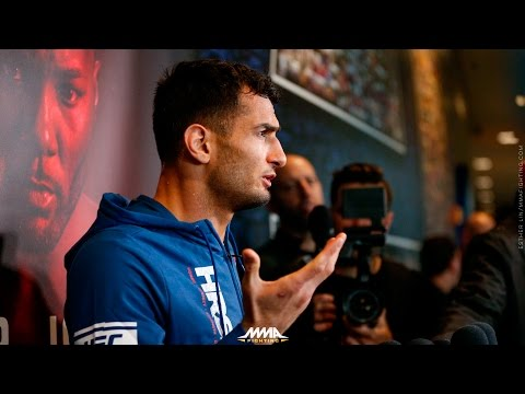 Gegard Mousasi UFC 210 Open Workout Scrum - MMA Fighting