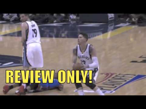 Zach Randolph BIG Fight and Punches Steven Adams during Thunder Grizzlies Game REVIEW