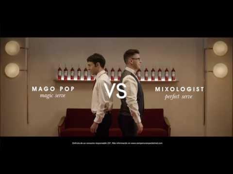 El Mago Pop se bate en duelo con el 'mixologist' de Campari