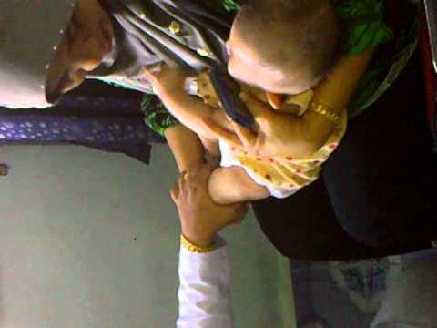 aleesya kena cucuk 5 bulan