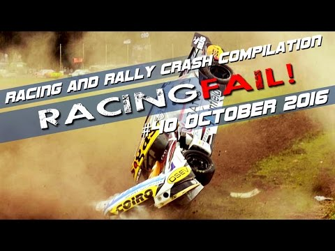 Racing and Rally Crash Compilation Week 40 September 2016