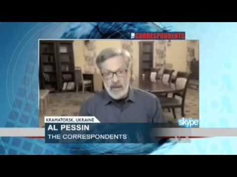 Voice of America Reporter Tries to Clarify Putin's Remark on NATO's Role in Ukraine