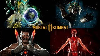 MORTAL KOMBAT 11 - All Character INTROS & VICTORIES @ 1080p (60ᶠᵖˢ) ✔