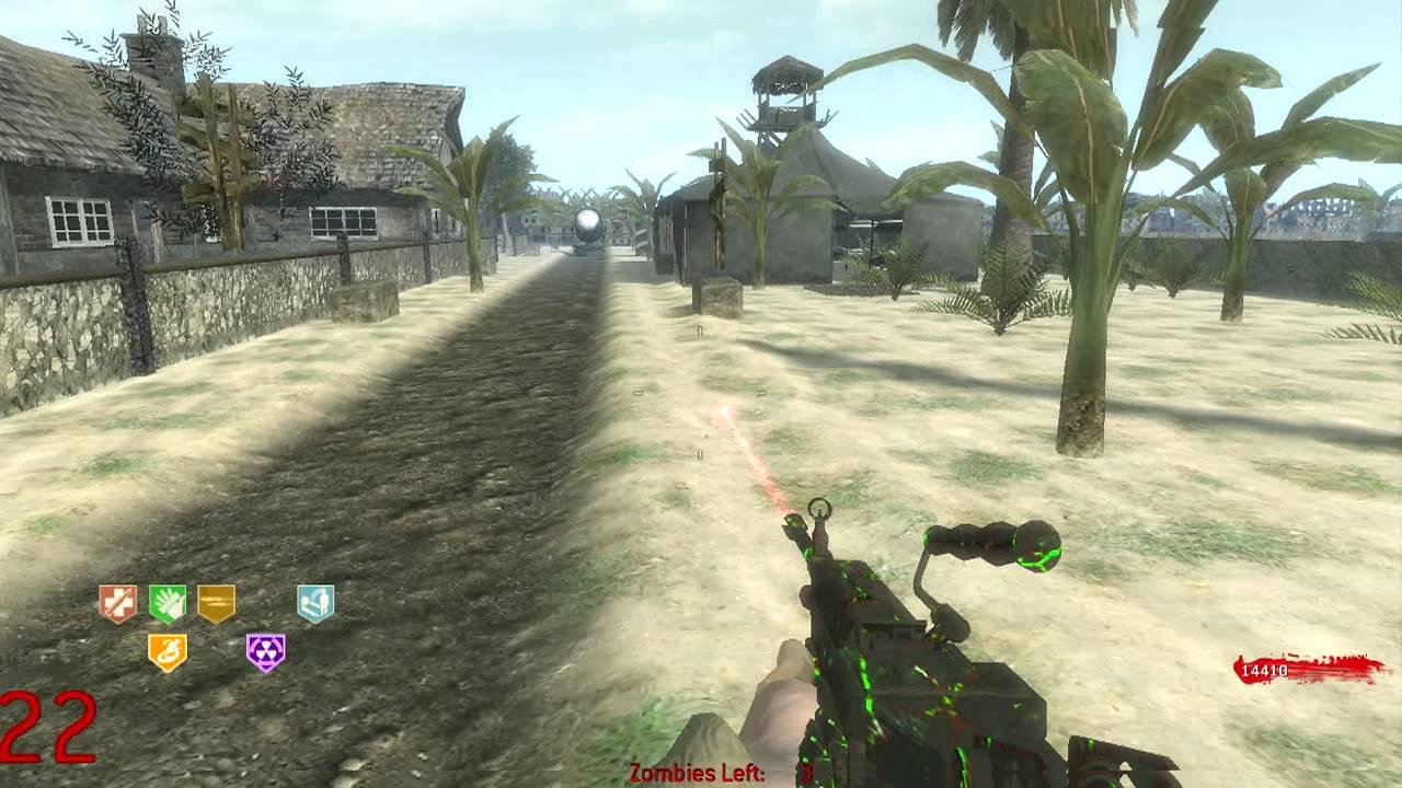 cod world at war zombie map
