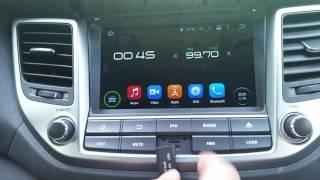 Hyundai Tucson Android bilstereo Navigation