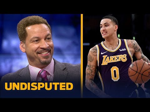 Chris Broussard reacts to Kyle Kuzma's 41-point career high in Lakers' win vs DET | NBA | UNDISPUTED