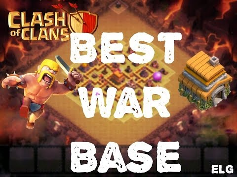 Clash of Clans - Best Trophy/War Base - Town hall 6 - Best Defensive Base EVER
