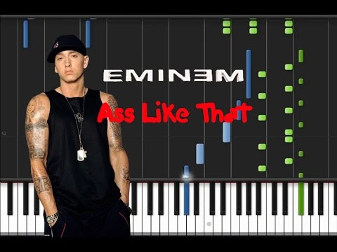 Eminem - Ass Like That [piano Tutorial] (♫) video
