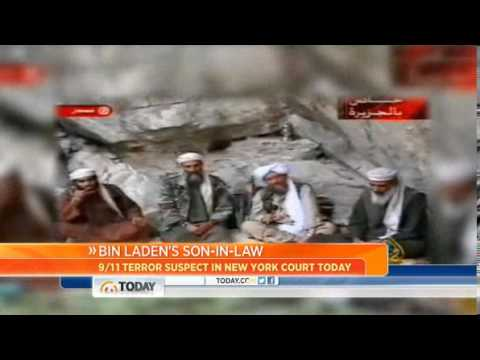 Bin Laden's son-in-law  in New York court to face terror charge -