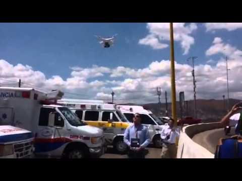 Grupos de rescate en Oaxaca cuentan con un Drone