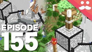 Hermitcraft 4: Episode 155 - MEGA BUILDS!