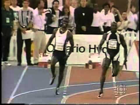 1997 - Donovan Bailey vs Michael Johnson 150m