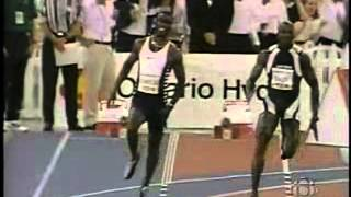 1997 - Donovan Bailey vs Michael Johnson 150m