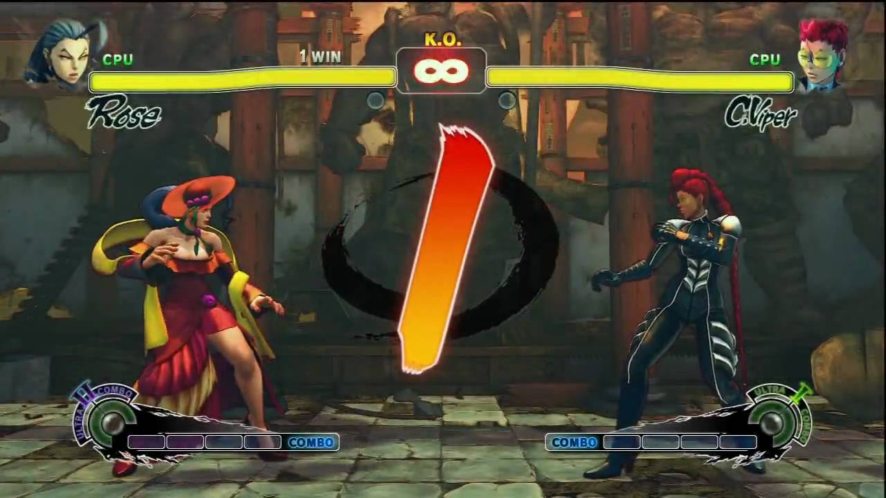 Q Street Fighter 4 Super Street Fighter 4 Femme