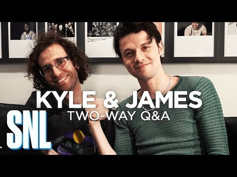 Two-Way Q&A: James Bay and Kyle Mooney - SNL