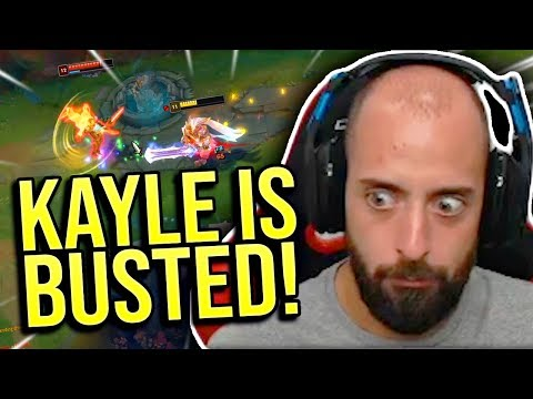 THIS IS WHY KAYLE TOP IS SO BROKEN!! - SRO Road to Challenger