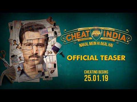 Official Movie Teaser: CHEAT INDIA | Emraan Hashmi | Shreya Dhanwanthary | Soumik Sen thumbnail
