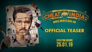 Official Movie Teaser: WHY CHEAT INDIA | Emraan Hashmi | Shreya Dhanwanthary | Soumik Sen