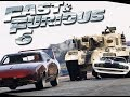 Fast & Furious 6 Dominic's Team Vs Tank ( Part 1)