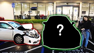 She crashed her car, so I BOUGHT HER DREAM CAR! *Surprise*