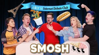 Smosh Faces Off in 'Ellen's Internet Debate Club'