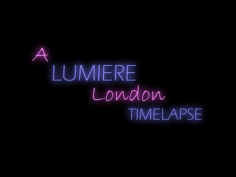 A Lumiere London Timelapse - Light Festival HD