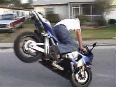 Bikes Stunts Videos Sick Street Bike Stunts and