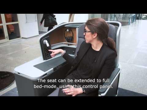 The design behind SAS Business Class seat | SAS