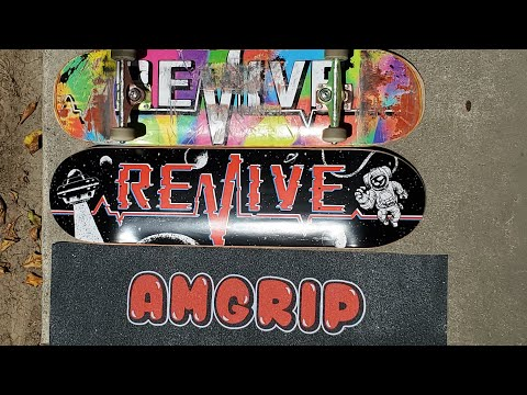Setting Up My New Revive Skateboard