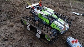 Lego 42065 / xtrem crawling mod instructions
