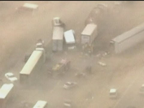 1 dead, several hurt in Arizona dust storm crashes - Worldnews.