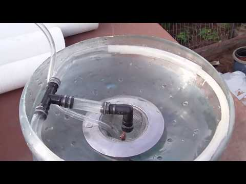 Homemade Hydroponics How To Pump Water From Air