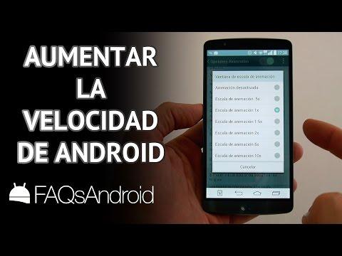 Cómo hacer más rápido tu móvil sin actualizar Android: animaciones