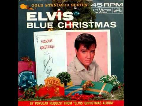 Elvis Presley - Blue Christmas (Original Song) HQ 1957