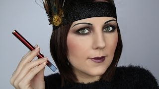 Gatsby 1920s Vintage makeup /Flapper Girl