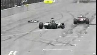 Ralf Schumacher Crash live