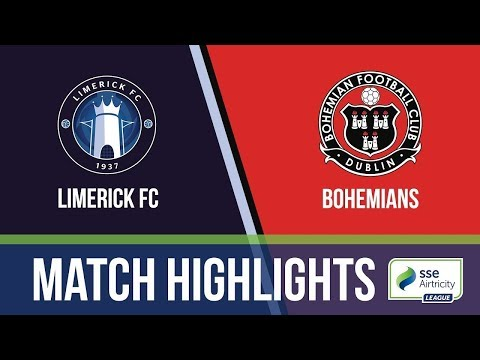 HIGHLIGHTS: Limerick 1-1 Bohemians