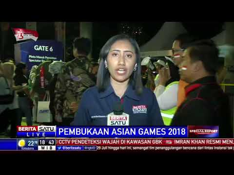Warga Antusias Saksikan Pembukaan Asian Games 2018 thumbnail
