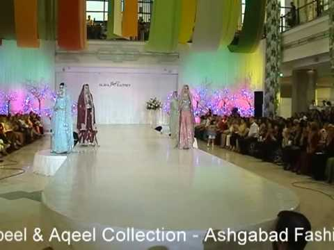 Pakistani top designers Nabeel & Aqeel presents Pink Diamond Collection at Ashgabad Fashion Week 08